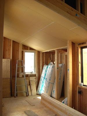 斜め天井施工